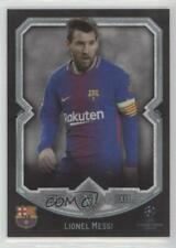 2017-18 Topps Museum Collection UEFA Champions League Lionel Messi #1