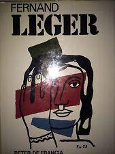 FERNAND LEGER BY PETER DE FRANCIA *1ST ED*