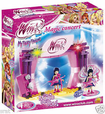 Cobi Toys Winx club magic concert Winx toys-blocs de construction set 80 pcs neuf