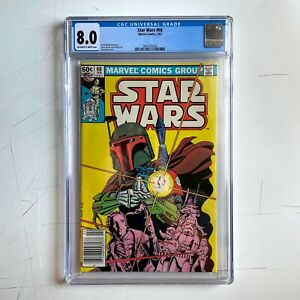 Star Wars #68 CGC 8.0 (VF) OW-White, First Appearance of Mandalorians, Newsstand