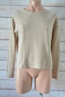 Forever 21 Jumper Sweater Knit Size Us Small 10 12 Beige White Broderie Anglaise