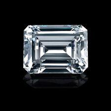 GIA CERTIFIED NATURAL EMERALD CUT LOOSE DIAMOND 0.60CT H VVS2 -CK6608