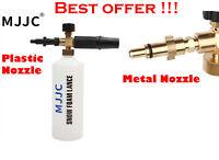 MJJC Snow Foam Lance Pressure Car Washer Gun Foamer Wash Bottle Karcher Nilfisk