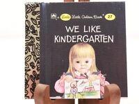 NEW! Copyright 1965 #27 Little Little Golden Book We Like Kindergarten Miniature
