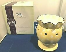 Authentic Scentsy Dotty Full Size Warmer-Retired and New in Box