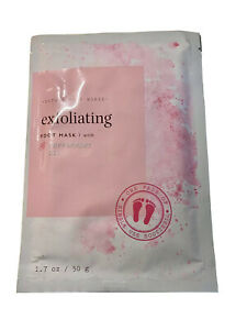 Bath and Body Works Exfoliating Peeling Foot Masks Peppermint Oil DISCONTINUED
