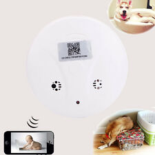 Wireless HD 1080P Digital Nanny Cam Smoke Detector Video Camera Motion DVR CCTV