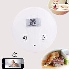 Wireless HD 1080P Digital Nanny Cam Smoke Detector Video Camera Motion DVR CCTV