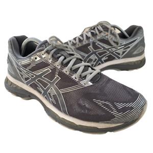Asics Gel Nimbus 19 Mens Size 11.5 Gray Athletic Walking Running Shoes Sneaker