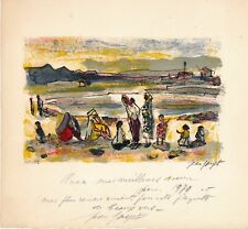 Lithographie Jean Joyet lithographie originale signée numérotée