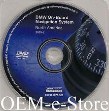 2003 2004 BMW X3 X5 Z4 M3 7 & 3 Series Mini Cooper Navigation DVD U.S Canada Map