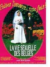 Bande annonce film cinéma 35mm 1994 La vie sexuelle des Belges Jan Bucquoy RARE