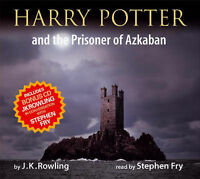 Stephen Fry : Harry Potter and the Prisoner of Azkaban CD FREE Shipping, Save £s