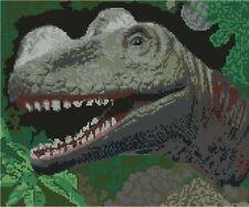 "Dinosauro contato CROSS STITCH KIT 10 ""x 11,75"" JURASSIC PREISTORICI d2366"