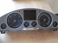 VW Phaeton 3d Tacho / Kombiinstrument V10 TDI 320km/h RB8 3D0920881a