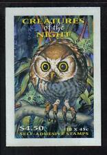 Australia 1997 Creatures of the Night sa bklt-Attractive Topical (1624a) Mnh/Mh