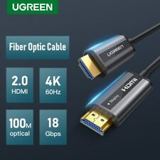 Ugreen HDMI to HDMI Cable 2.0 Fiber Optic 4K 60Hz for Nintendo Switch, PS4,PS3