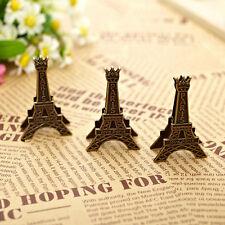 1 pc Paris Eiffel Tower message holder business card holder clip desk organizer