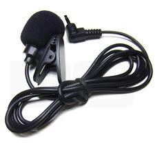 Micro cravate cellule micophone electret avec pince cable et jack 3.5mm