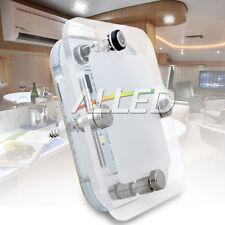 12V DC Cool White LED Crystal Roof Ceiling Light Single Suqare Lamp Caravan/RV