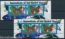 Samos Grayling Butterflies Insects, Rwanda 2011 MNH Imperf+perf SS