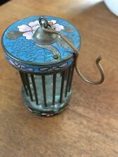 Chinese Antique Cloisonne Enamel Cricket Insect Cage