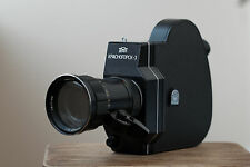 KMZ Krasnogorsk 3 16mm  Film Movie Camera Set  in Genuine Leather Case
