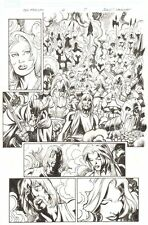 Fear Itself: The Fearless #12 p.7 Valkyrie & the Valkyrior art by Mark Bagley