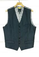⭐ mens TED BAKER Cerswai country tweed waistcoat sleeveless jacket size 2 small