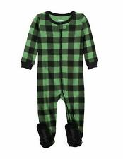 Leveret Baby Boys Girls Christmas Footed Pajamas Sleeper 100% Cotton Kids &