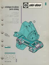 1989 Ski-Doo Snowmobile Tool Accessories Parts Manual 480 1240 00 (409)