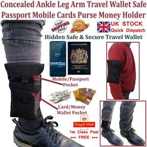 LTG PRO® Concealed Ankle Leg Arm Wrist Wallet Running Sports Travel Mobile Bag