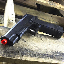 M1911 FULL SIZE SPRING AIRSOFT HAND GUN PISTOL w/ 6mm BBs BB Tactical Black