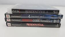 Resident Evil 4, 6, Veronica, Outbreak