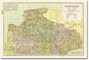 Devon - North (1900): Cassini Historical Map (BCO-DEN) by Cassini Publishing Ltd