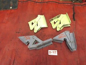MG Midget, Austin Healey Sprite,  Front Hood Hinges, Matched Set, Original, !!