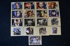 Doctor Who 50th Anniversary PHQ 374 - Full Set of 17 'Stamp' Postcards
