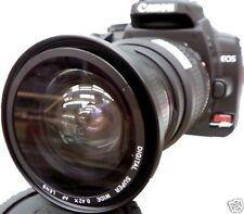 Wide Angle Fisheye Macro lens for Canon EOS Digital Rebel T7i T6i 58mm t5i xti