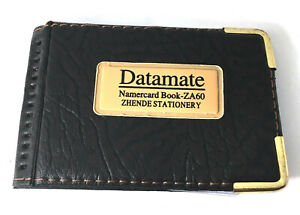 1 pcs Black Thin 30 Pockets Credit Card ID Holder Case Wallet Book