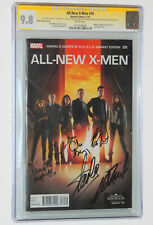 ALL NEW X-MEN #19 Stan Lee & Cast Signed CGC SS 6X 9.8 AGENTS of SHIELD PHOTO WT