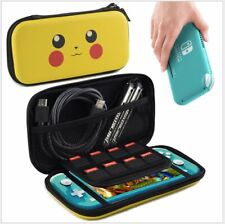 Pikachu Hard Carrying Case For Nintendo Switch Lite Console Joy-Con Zipper Bag