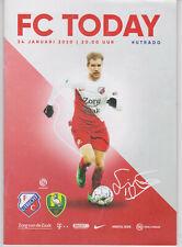 Programme / Programma FC Utrecht v ADO Den Haag 24-01-2020