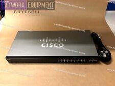 Conmutador Gigabit 🔥 SG200-18 de Cisco SLM2016T 🔥