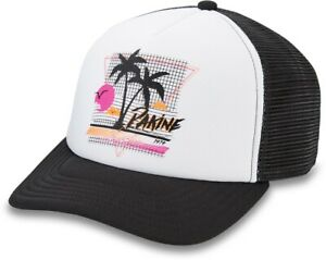 Dakine Totally Trucker Snapback Cap Womens Black New 2021 Hat