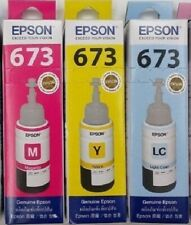 New in Box Original Epson Ink T6733/T6734/T6735 for L805 /1800