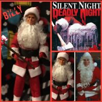 SILENT NIGHT DEADLY NIGHT Billy CUSTOM HORROR DOLL OOAK Santa Action Figure