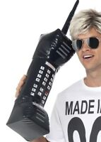 1980S RETRO 76CM GIANT INFLATABLE MOBILE PHONE FANCY DRESS JACKER YUPPIE X99 332