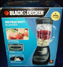 New listing New in Box•Black & Decker•550 Peak Watt•6-Cup•10 Speed•Blender•Bl2012B p•Black
