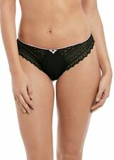 Freya Daisy Lace Thong, G-String, Knickers 5137 Noir New Womens Various Sizes