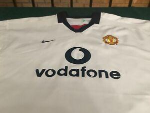 Vintage Nike Manchester United Vodafone 2002-03